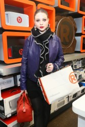 Michelle Trachtenberg - Charlotte Ronson Holiday Party in NYC 12/12/13
