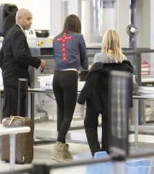 Kendall Jenner at LAX airport 12/13/13