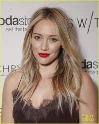 Hilary Duff - Switch Boutique�s Holiday Party in LA 12/14/13