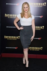 "Amy Schumer -  ""Anchorman 2"" Premiere in NYC 12/15/13"