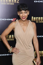 "Meagan Good -  ""Anchorman 2"" Premiere in NYC 12/15/13"