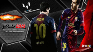 Download Messi FIFA 14 Start Screen for PES2013 by #Flare