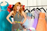 Bella Thorne - Designing Sherri Hill Dresses Shoot