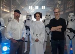 Sophia Bush Dressed as Princess Leia on MythBusters