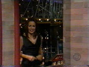Patricia Heaton-nice black dress(Letterman Show)