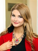 Stefanie Scott - Now & Zen Group showroom in New York - December 4, 2013
