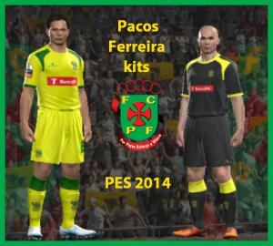 PES 2014 Pacos Ferreira 2014 kits by Attila74