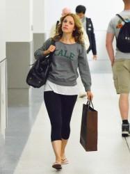 Rachel McAdams - at LAX Airport 12/18/13