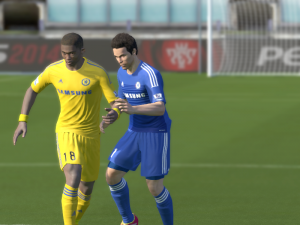 PES 2014 Chelsea Kit 2013/2014 by Hazard17