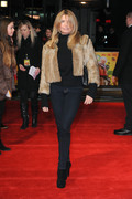 Tina Hobley - Premiere, The Harry Hill Movie, London, 19-Dec-13