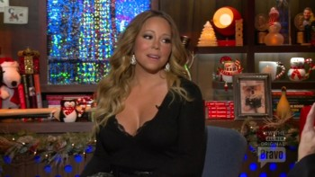 MARIAH CAREY BOOBs SHOW.Watch what happens live.2013