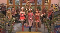 Victoria Justice, Ariana Grande, and Elizabeth Gillies Singing It's Not Christmas Without You on Victorious
