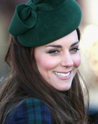 Catherine, Duchess of Cambridge - Christmas Day service at Sandringham 12/25/13