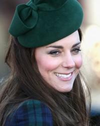 Catherine, Duchess of Cambridge - Christmas Day service at Sandringham 12/25/13