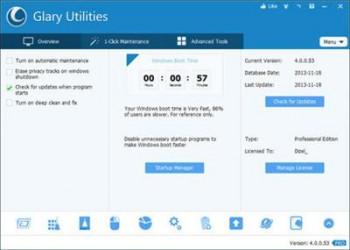 Glary Utilities Pro 4.3.0.80 Multilingual Portable