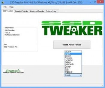 SSD Tweaker Pro 3.0.9 Portable