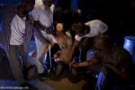 Tia Ling Taken Down and Gangbanged in Alley by Five Black Men - Kink/ BoundGangBangs (2011/ HD 720p)