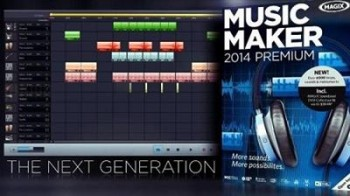MAGIX Music Maker 2014 Premium 20.0.3.45+Patch