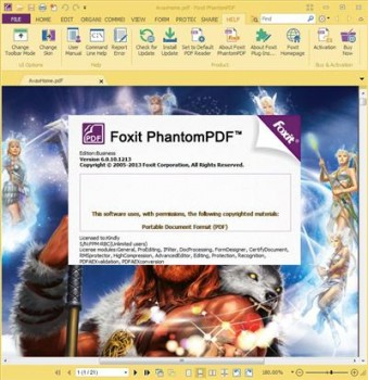Foxit PhantomPDF Business 6.0.10.1213 Multilingual