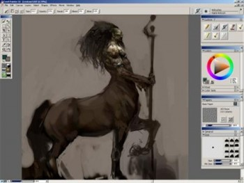 Gnomon Workshop - Painting the Centaur with Justin Sweet