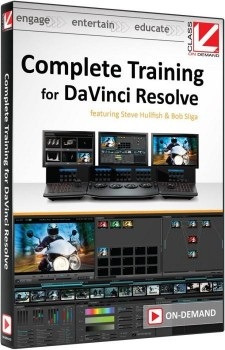 Complete Training for DaVinci Resolve with Steve Hullfish and Bob Sliga