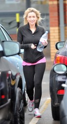 Gemma Merna - out in Liverpool 12/30/13