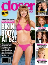 Jane Seymour Wearing a Bikini in Closer Weekly Magazine - January 2014