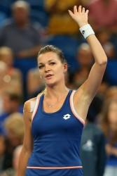 Agnieszka Radwanska - 2014 Hopman Cup in Perth 1/2/14