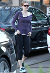 Amy Adams - out in West Hollywood 1/2/14