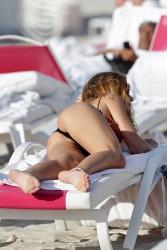edbce4298806421 Olga Kent   Bikini on Miami Beach 2014