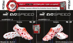 PUMA Evo-Speed Camo boot by H.F.T for PES2014