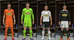 Download Colo-Colo 2014 Kits Set by silasmendes