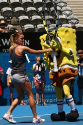 Agnieszka Radwanska - 2014 Sydney International 1/6/14