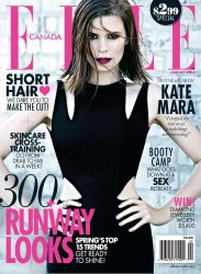 Kate Mara - Elle Canada February 2014