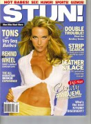 Cindy Ambuehl - May 2002 Stun Magazine Cover (big cleavage)