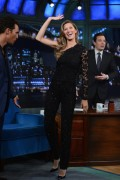 Gisele Bundchen - 'Late Night With Jimmy Fallon' in NYC 1/6/14