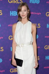 Karlie Kloss - 'Girls' Season 3 premiere in NYC 1/6/14