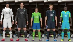 PES 2014 Seattle Sounders Kits