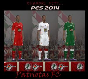 Patriotas F.C. 2013-2014 Kits