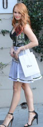 Debby Ryan - Leaving a Dior event in West Hollywood 1/8/14