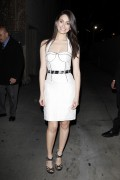 emmy rossum at jimmy kimmel live in hollywood 01 08 14 celeb