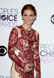 Stana Katic - 40th People's Choice Awards at the Nokia Theatre in Los Angeles on January 8, 2014