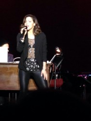 Katharine McPhee Performing in Clearwater, Florida on January 11, 2014