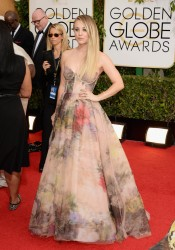 Kaley Cuoco - 71st Annual Golden Globe Awards in Beverly Hills 1/12/14