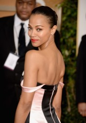 Zoe Saldana - 71st Annual Golden Globe Awards 1/12/14