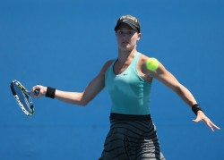Eugenie Bouchard - 2014 Australian Open in Melbourne 1/13/14