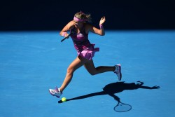 Caroline Wozniacki - 2014 Australian Open in Melbourne 1/14/14