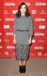 "Keira Knightley - ""Laggies"" Premiere 2014 Sundance Film Festival 1/17/14"