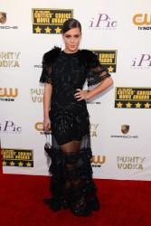 Adele Exarchopoulos - 19th Annual Critics' Choice Movie Awards at Santa Monica, January 16 2014