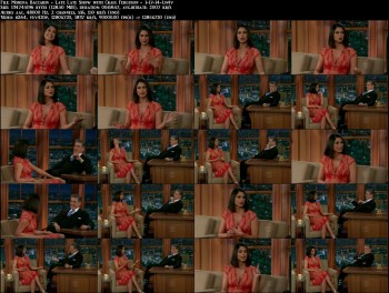 Morena Baccarin - Late Late Show with Craig Ferguson - 1-17-14
